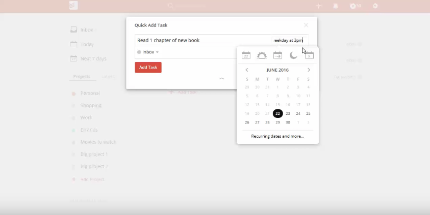 How To Setup Recurring Tasks In Todoist | The Productivity Academy