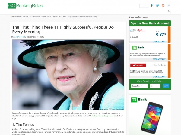 http://www.gobankingrates.com/personal-finance/first-thing-11-highly-successful-people-morning/